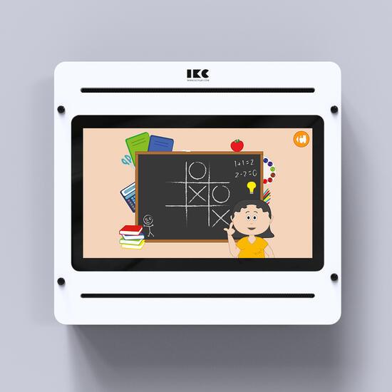 Op deze afbeelding staat Game train software