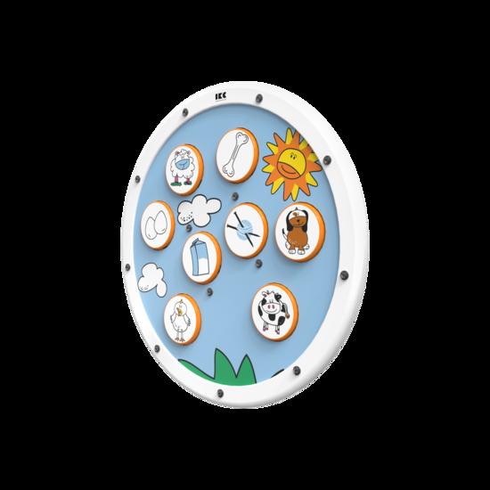 sorteerspel voor kinderen zoek 2 matchende plaatjes bij elkaar |IKC wandspel muurspel