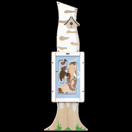 De uitstraling van een berkenboom als toevoeging aan uw kinderhoek | IKC speelsystemen