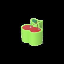 De Softplay Cherry is een handgemaakt zacht zitmeubel voor uw kinderhoek